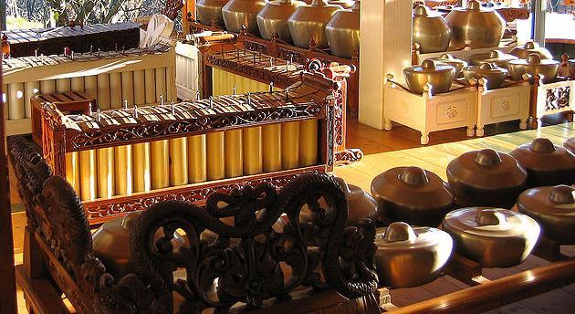 Gamelan muziek Rijksmuseum Volkenkunde