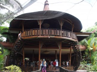 Yoga barn in Ubud op Bali