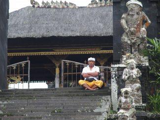 Besakih tempel Bali tijdens reis