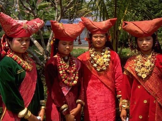 Kleuren van de Indonesiërs
