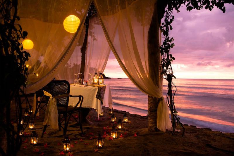 Romantische huwelijksreis Indonesië