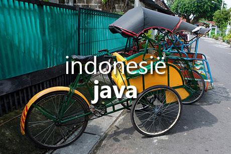 Vakantie op Java, Indonesië