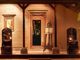 Mozaic restaurant in Ubud tijdens een individuele reis op maat naar Bali