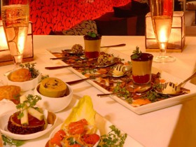 Tijdens een rondreis op Bali is Mozaic restaurant een aanrader