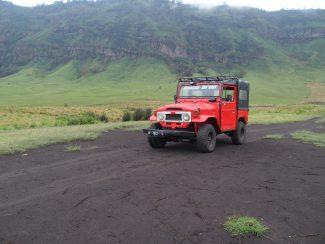 jeep op Java van Tumpang naar Bromo