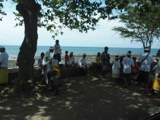 Kuningan feest op Bali tijdens rondreis