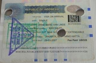 visum-Indonesie