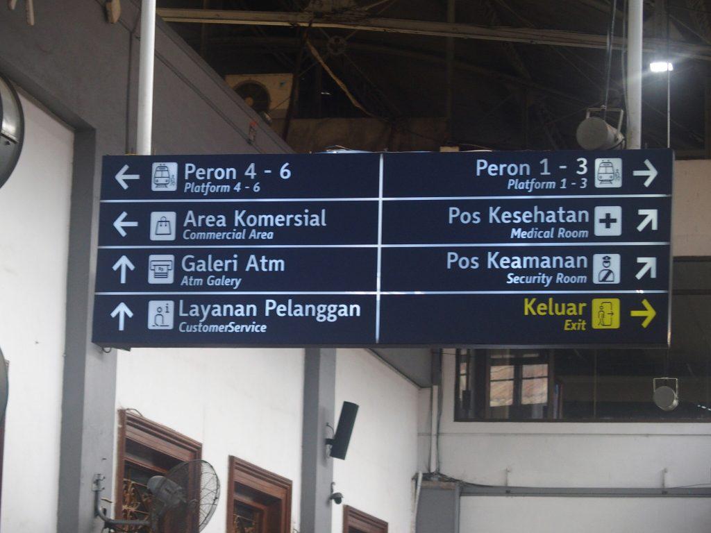 Per trein van Yogyakarta naar Malang