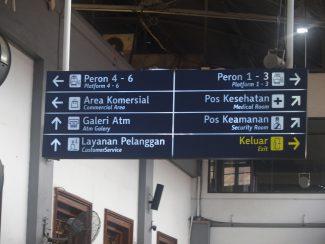 Treinreis Java tijdens rondreis