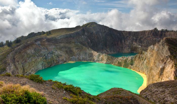 Kelimutu vulkaan op Flores, een bezoek waard tijdens uw rondreis door Indonesië
