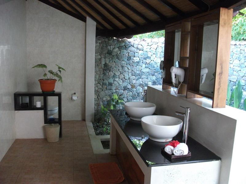 Eco resort op het vredige Bidadari