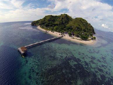 Klein eiland, helemaal voor uzelf