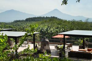 hotel Plataran Borobudur culinaire reis Indonesie