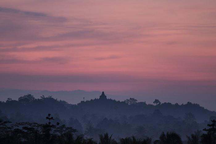 reis Java hotel Plataran Borobudur