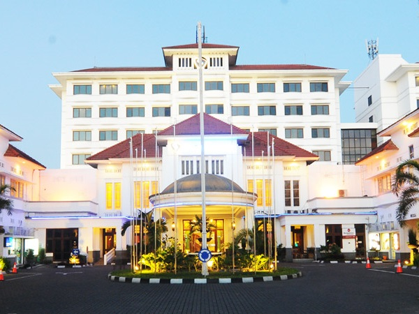 Garuda hotel Yogyakarta - rondreis - Java
