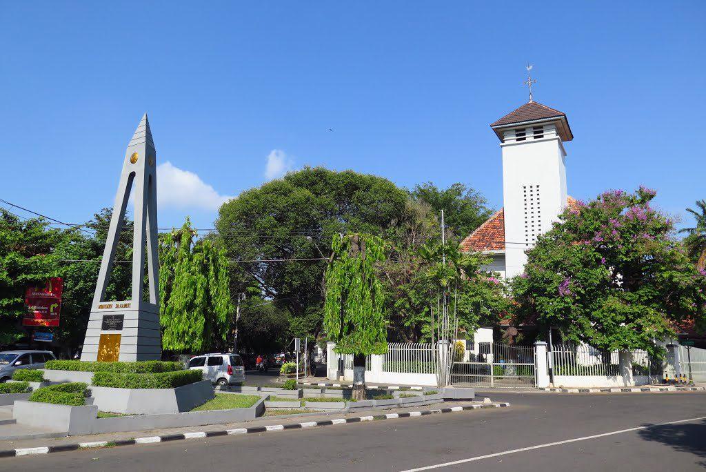vakantie - Java - Yogyakarta - St. Antonius kerk