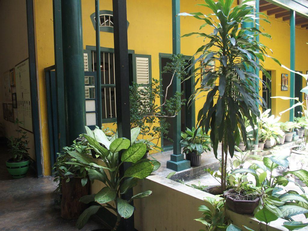 Gezinsvakantie Sumatra bezoek Tjong A Fie in Medan